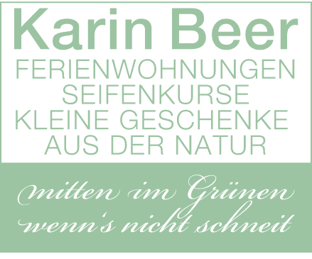 Karin Beer | Appartements | Schoppernau logo